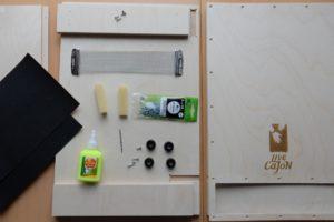 Комплект частей для сборки кахона своими руками